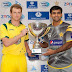 Muhammed Hafeez And George Bailey With T20 Trophy..!!