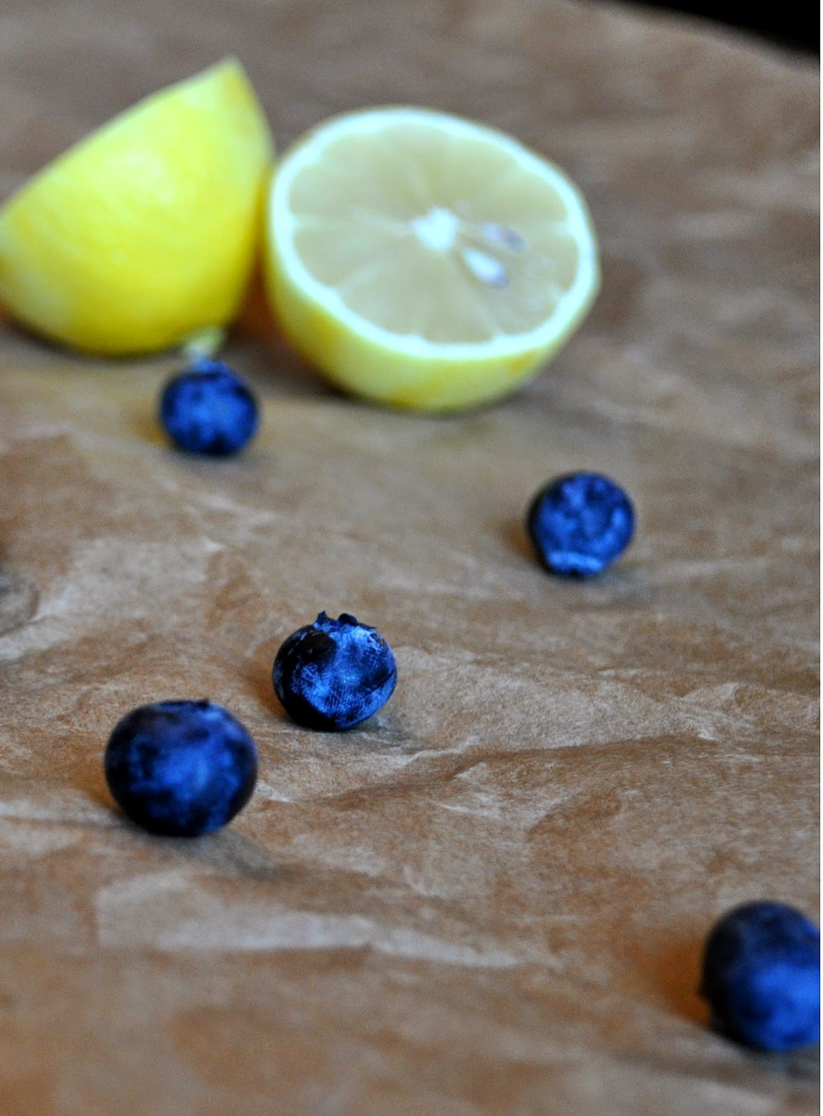Blueberries and Lemon