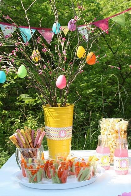 Never Listless 14 Nifty Easter Spring Decorations