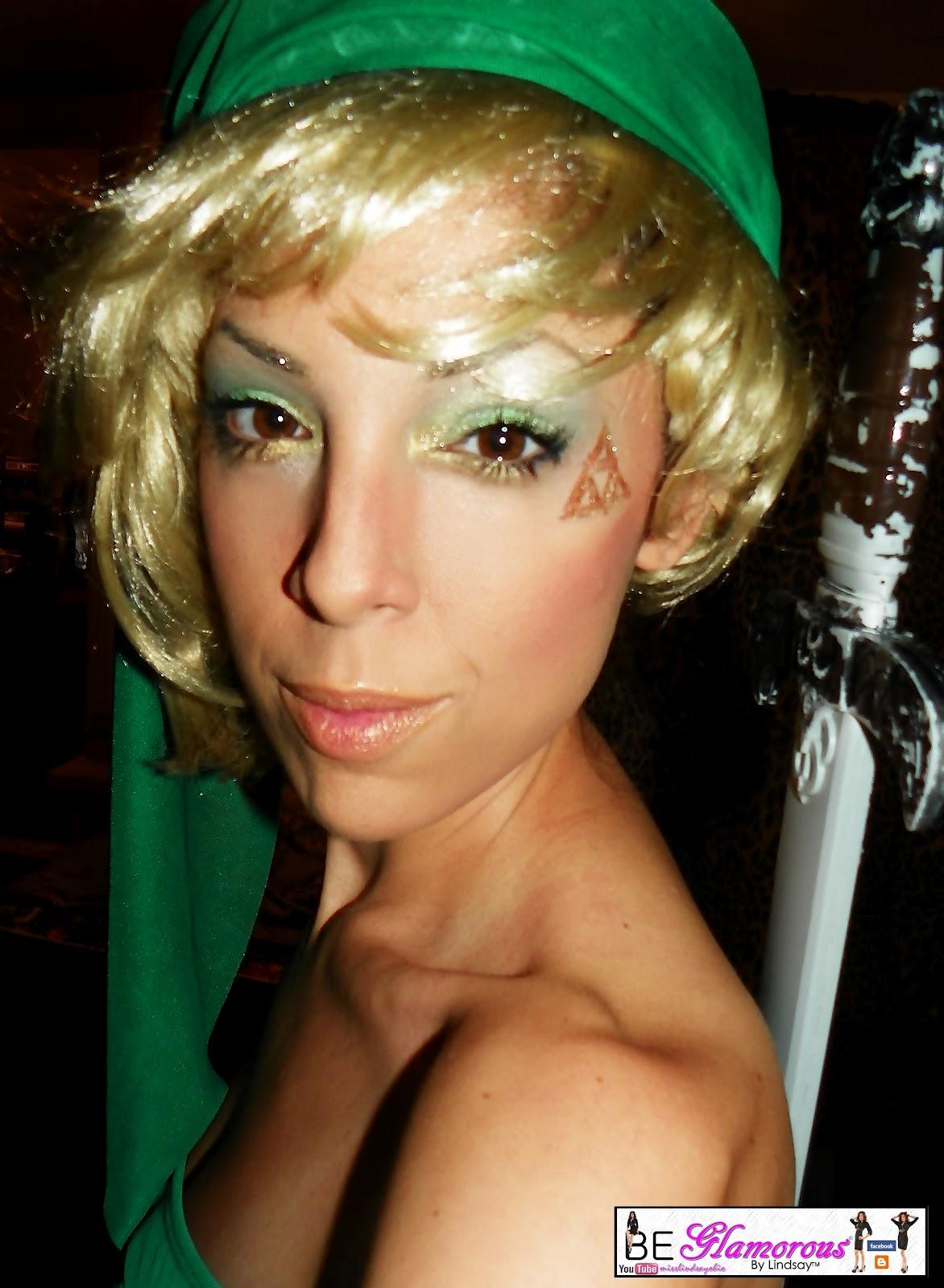 By lindsay legend of zelda link character makeup and costume