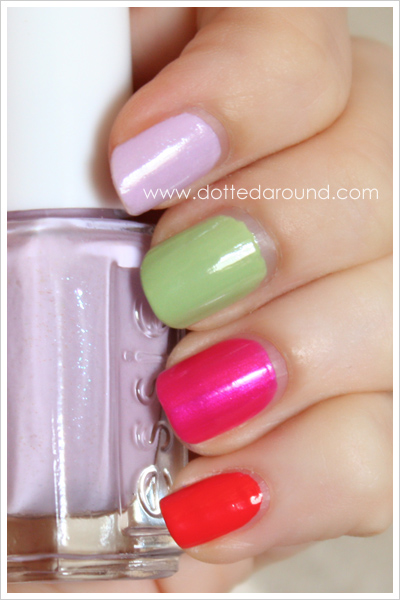 Essie Spring 2012 Navigate Her collection swatches nail polish