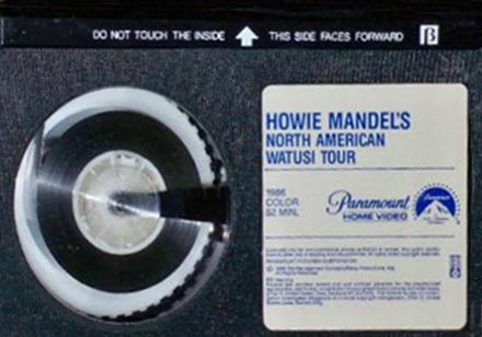 Howie Mandel North American Watusi Tour 1987 Full Movie ...