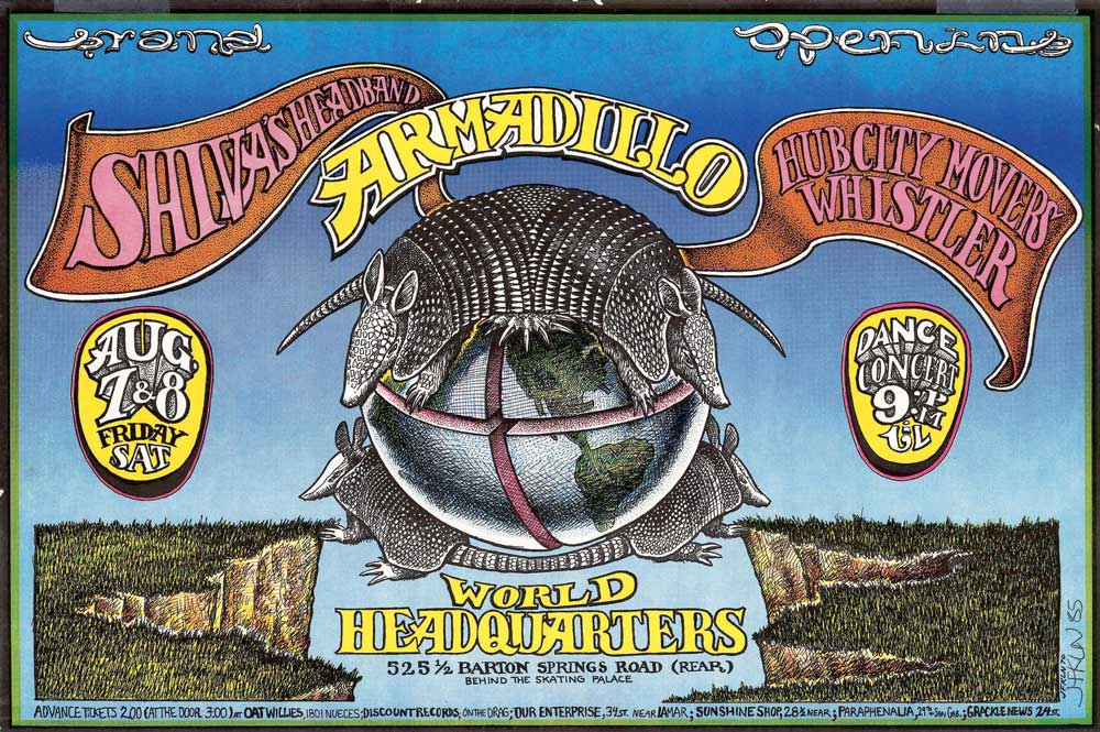 Jerry S Brokendown Palaces Armadillo World Headquarters