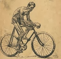"""Fragment okładki książki """"Hygena cyklisty"""""""