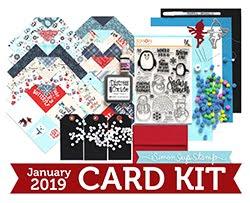 January Card Kit