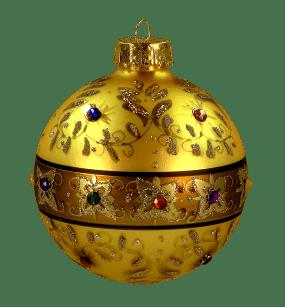 Zoom dise o y fotografia 26 adornos para navidad - Bolas de navidad doradas ...