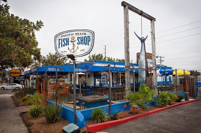Sandiegoville Dock Up To Pacific Beach Fish Shop For Some