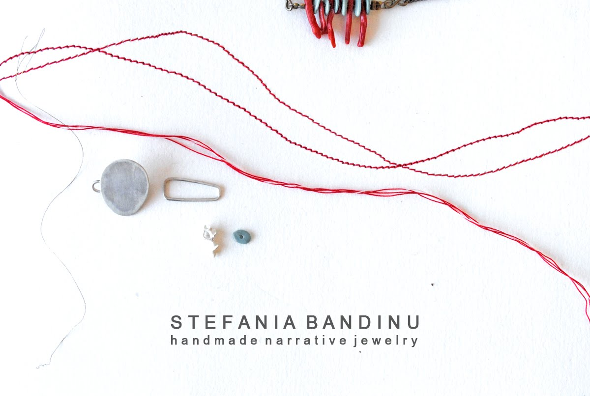 Stefania Bandinu - Narrative Jewelry