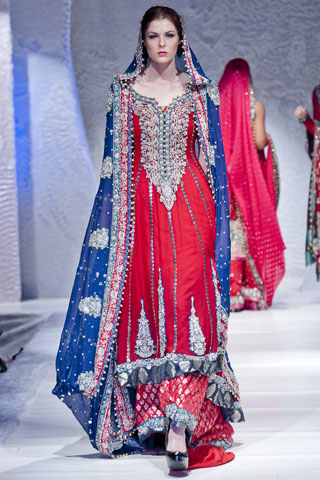 Girls party wear dresses pakistani fashion 2012