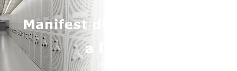 Manifest de reconeixement a l'Anselm Cartañà