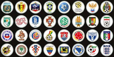 Los 32 calificados al Mundial Brasil 2014