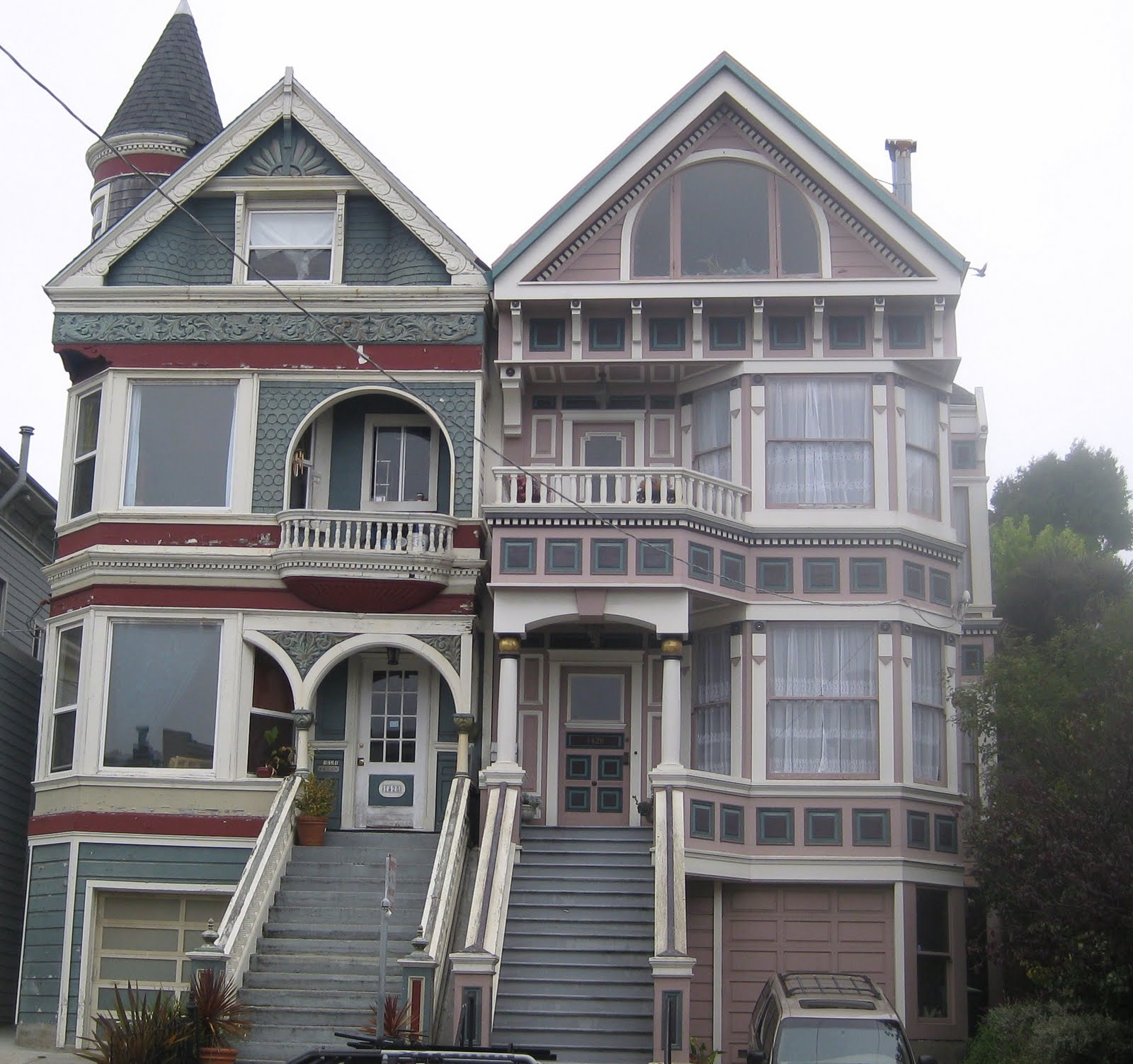 Lifestyle victorian era homes in san francisco for Building a victorian house