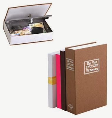 Caja fuerte acero libro Dictionary