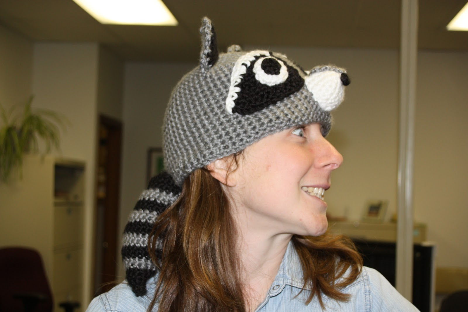 Crochet Pattern Raccoon Hat : [Insert Clever Name Here]: Raccoon Hat