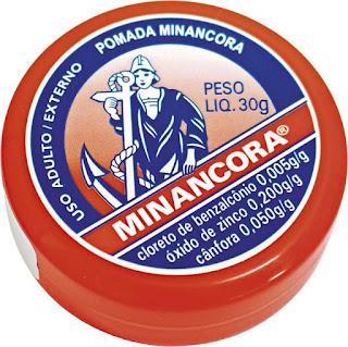 História do nome da Pomada Minâncora - famoso fármaco brasileiro.