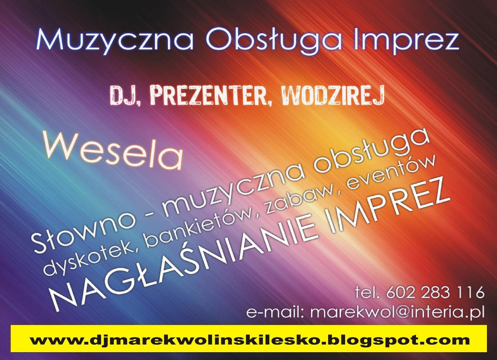 dj weselny - Marek Woliński - dj na wesele