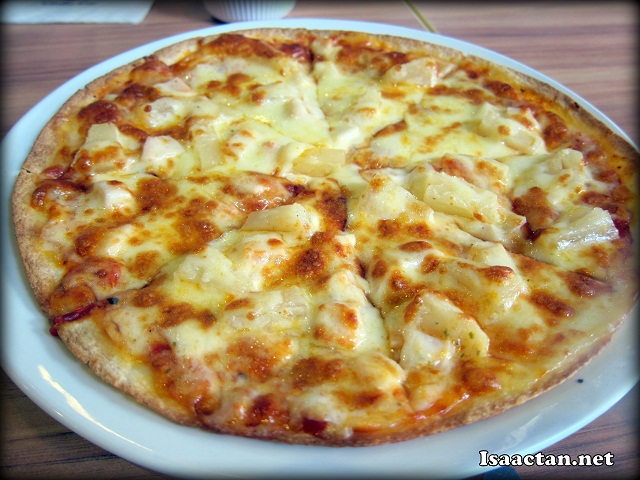 Tortillas aka thin pizza (Hawaii Tortilla) - RM12.90