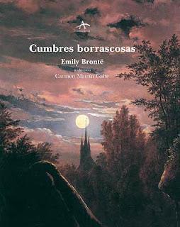 novela Cumbres Borrascosas escritora Emily Brontë