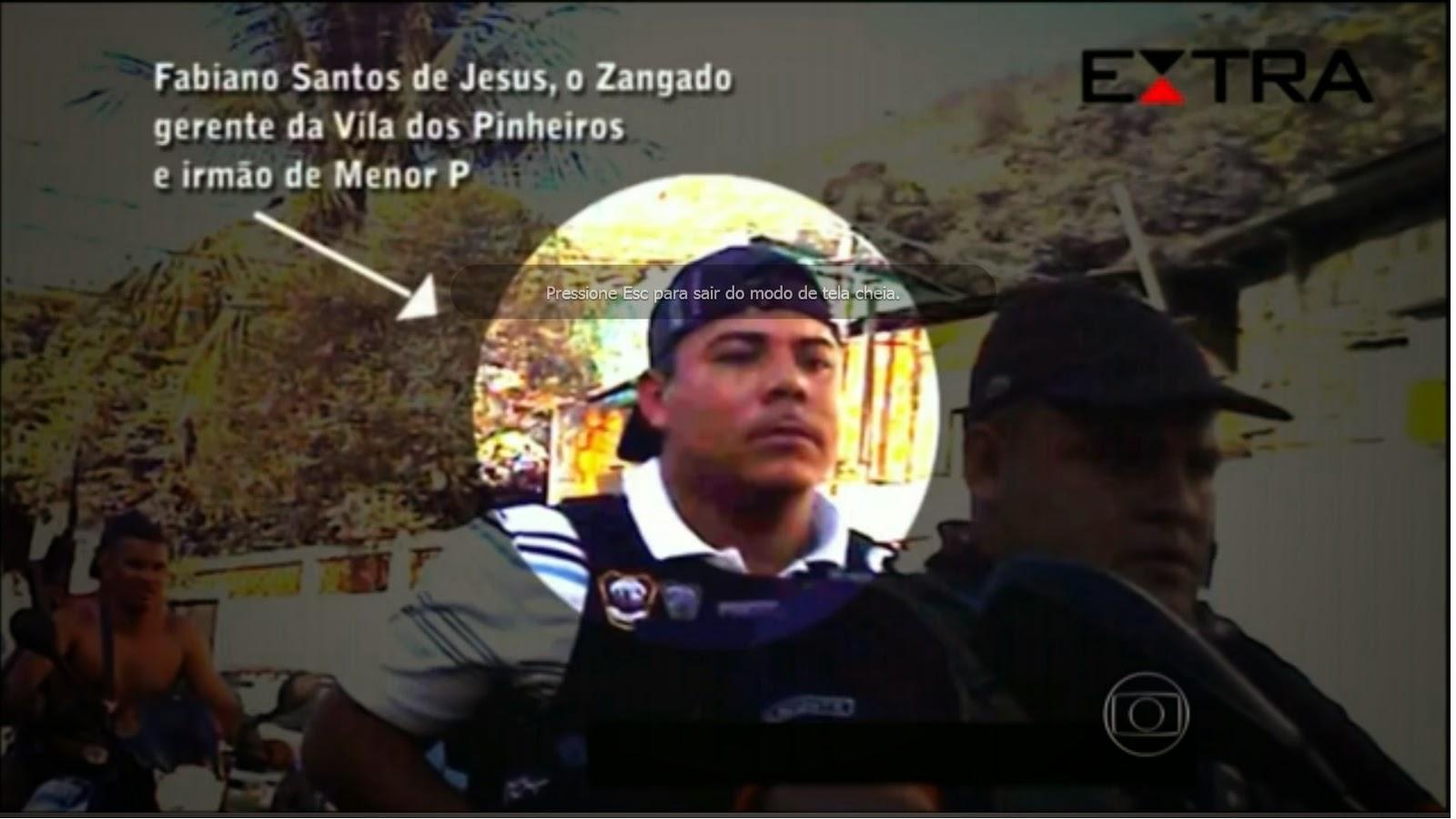 Irmão de traficante preso assume tráfico em favelas da Maré. Polícia do RJ já está a procura do indivíduo.