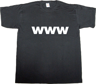 internet anniversary w3c t-shirt ephemeral-t-shirts