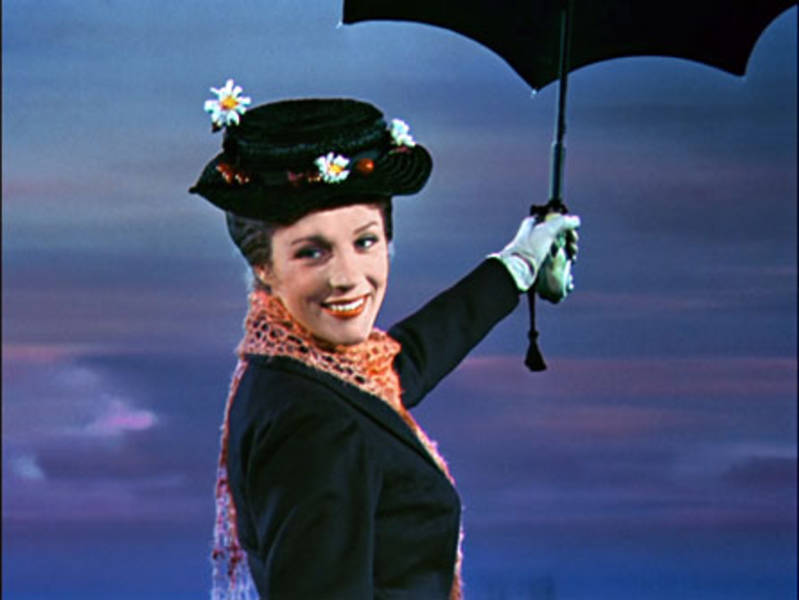 Julie Andrews As Mary Poppins. U201c