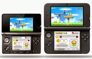 left: 3DS right: 3DSxl