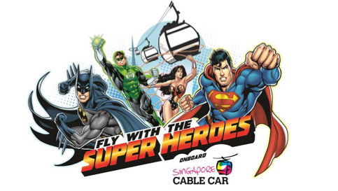 Super Heroes Cable Car