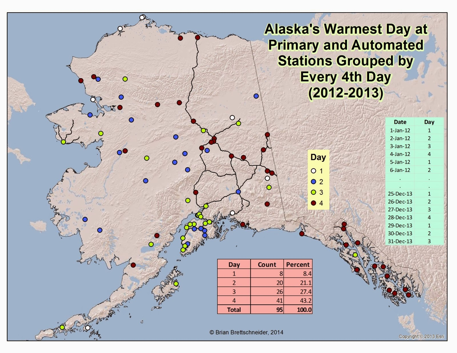 Deep Cold Interior And Northern Alaska Weather  Climate - Map alaska superimposed us