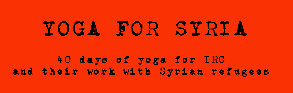 Yoga for Syria