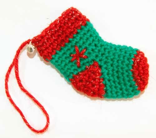 Kissa mis cosas a ganchillo calcetines navidad - Cosas a ganchillo ...