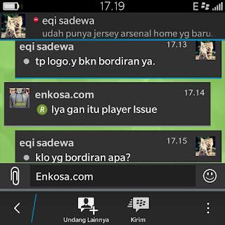 Testimoni Eqi Sadewea di enkosa sport jual online jersey bola arsenal home terbaru puma musim depan 2015 2016