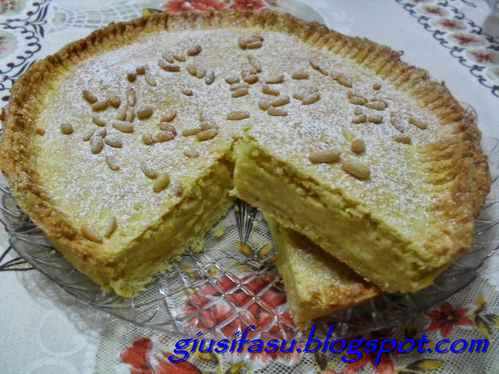 Ricetta torta della nonna wikipedia