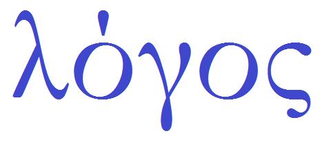 Significado Da Palavra LOGOS Em Grego