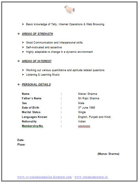 Resume Format For Call Center Job For Fresher. Resume Format For Bpo Jobs  Call Center Resume Occupational .