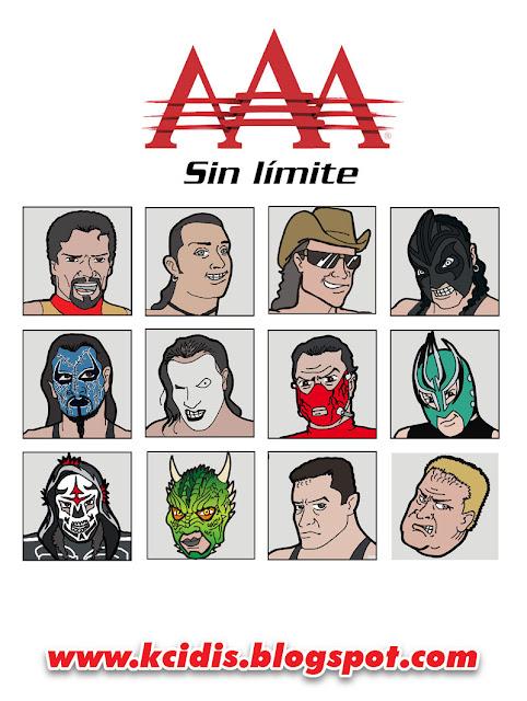 Luchadores AAA, tercera parte