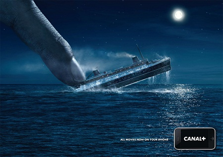 CANAL+ amusing and humorous print ads