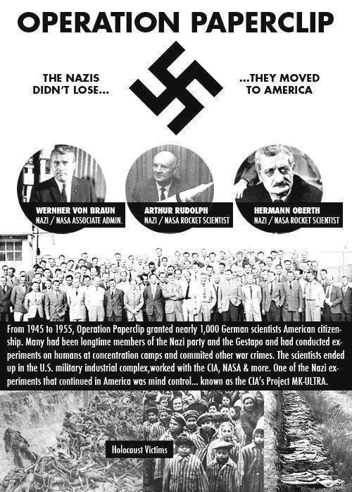 Biblical Archaeology .. - Page 5 Operation+Paperclip+the+Nazis+didn't+lose+they+moved+to+America