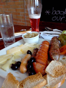 Do you want to know where you can enjoy this sumptuous Sausage Platter!