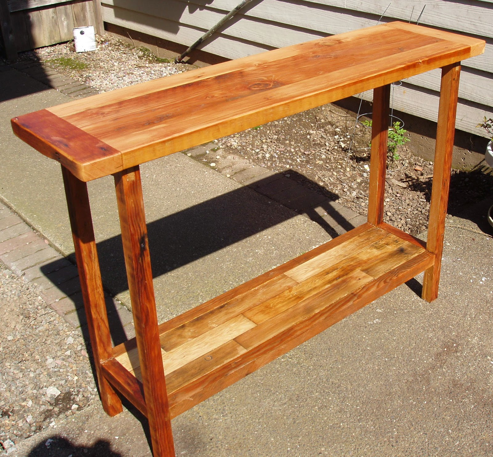 Genial Hand Cut Mortise And Tenon Joints On The Bottom Rails, And Bridle Joints  For The Top Rails. The Slab Is All Dowel Joined. Feel Free To Browse My  Etsy Shop ...