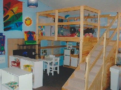Daycare room ideas daycare loft planet weidknecht Dacare room designs