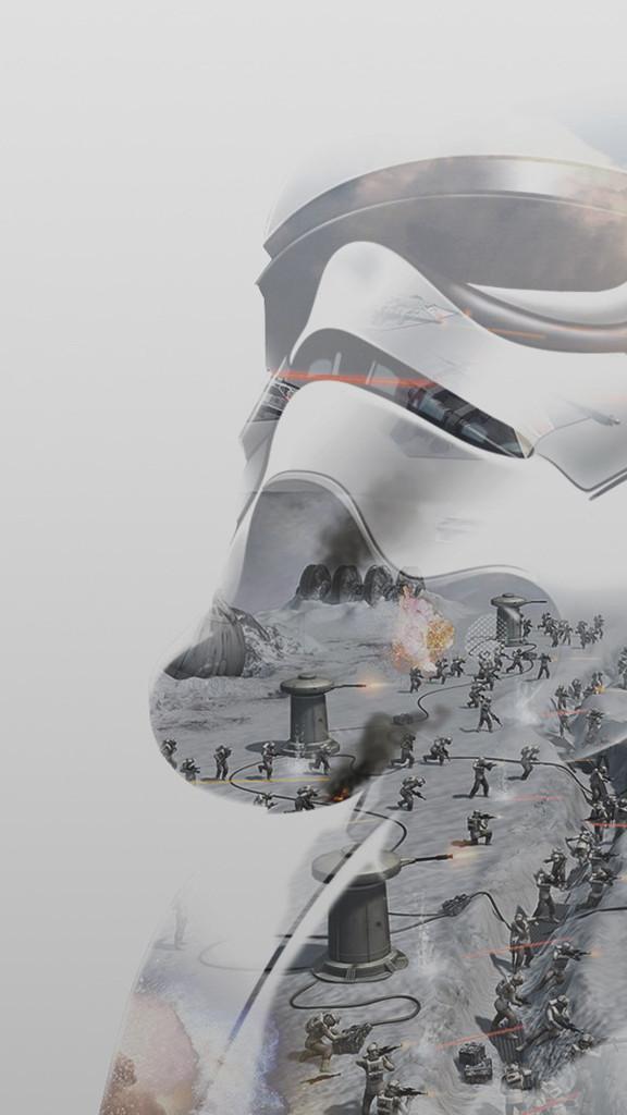 Star Wars güç uyanıyor iphone duvar kağıtları