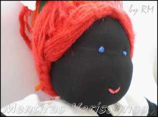 Boneca de pano Maria rita. A boneca sapeca.