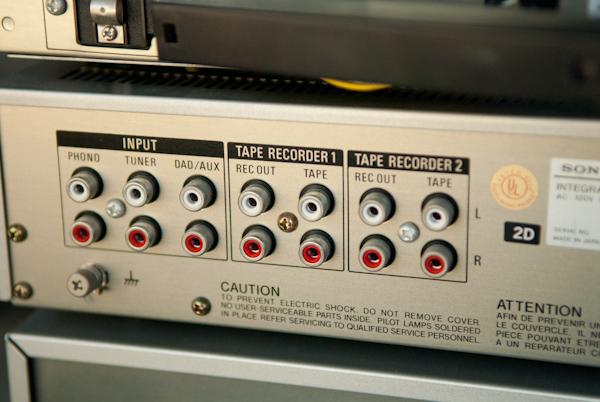 Heygreenie Vintage Sony Stereo System Estate Sold