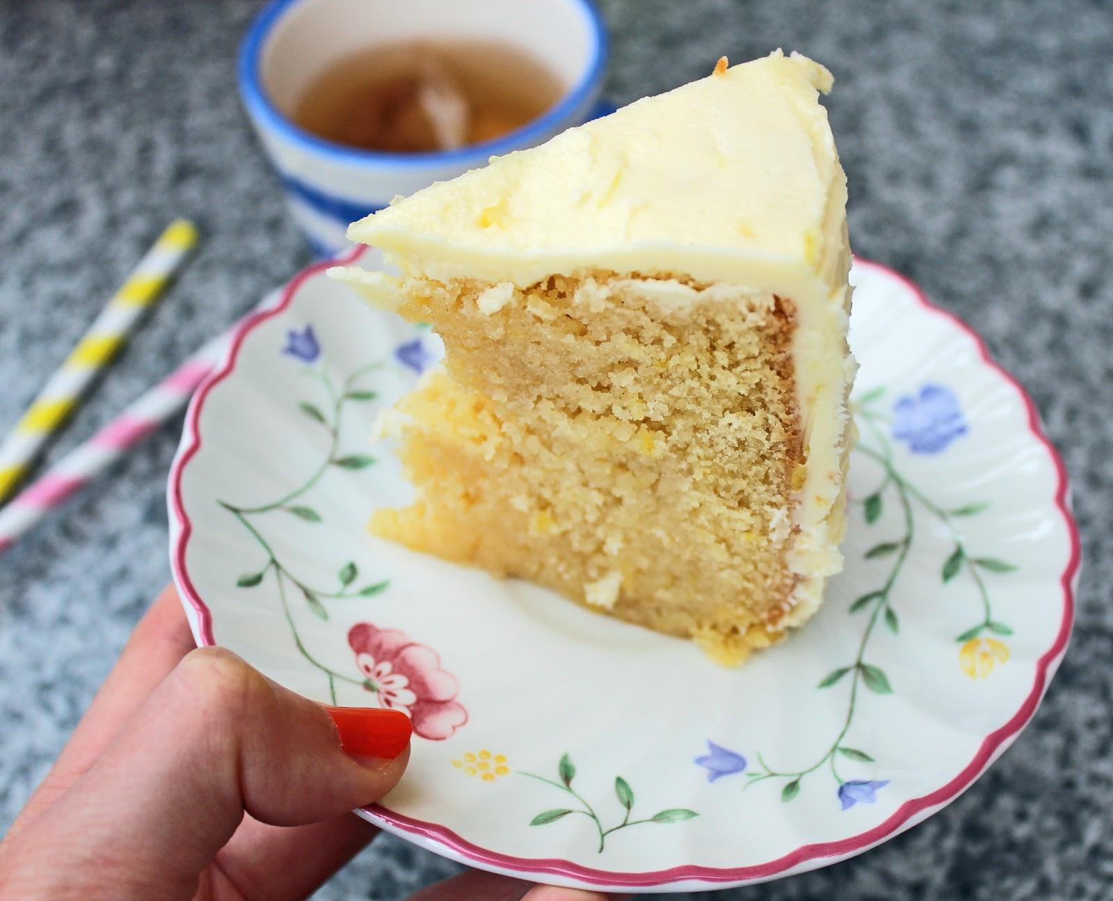 Hippopotamousse Triple Lemon Drizzle Birthday Cake
