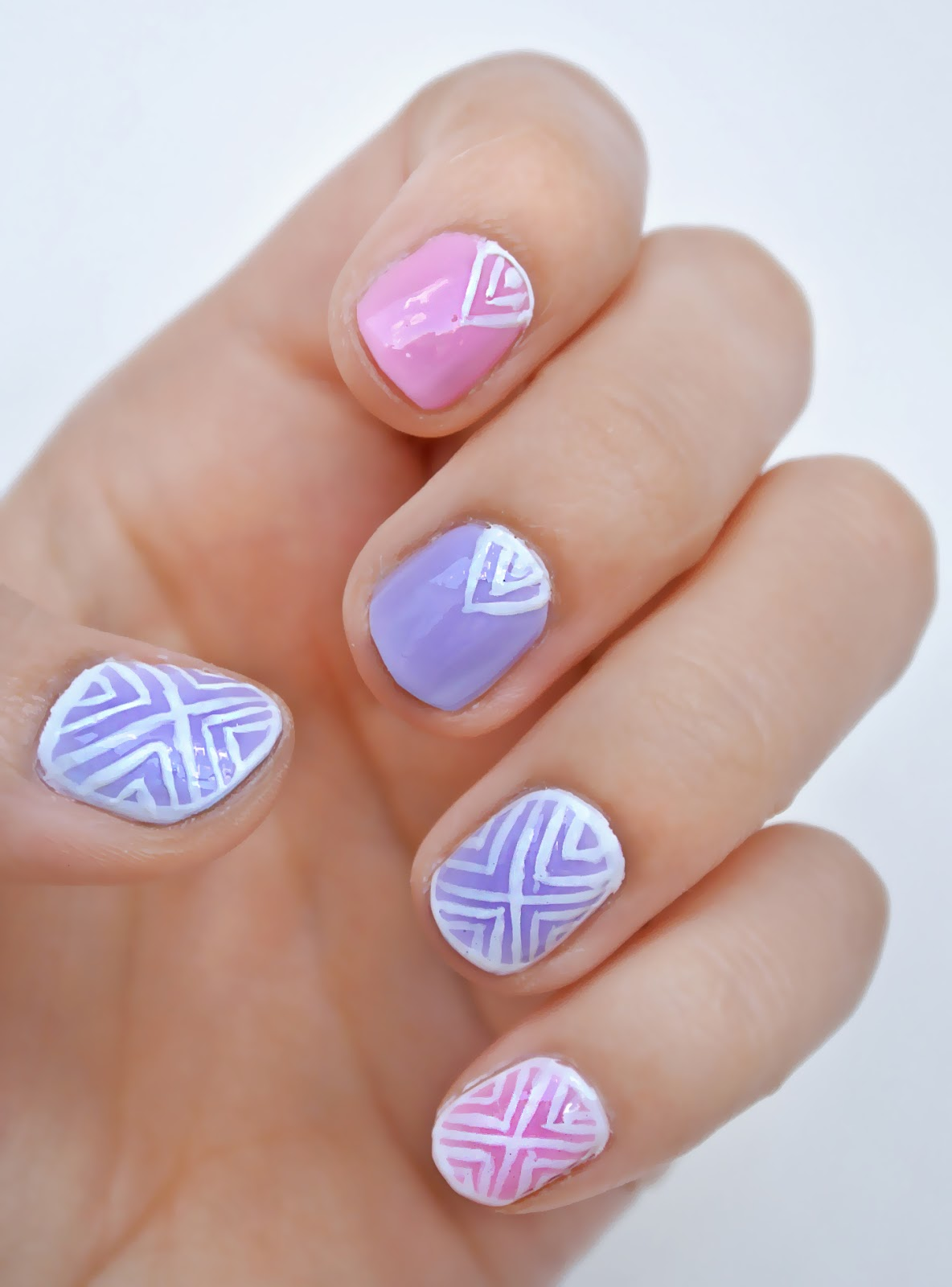 Simple Line Nail Art : Simple nail art line designs joy studio design gallery