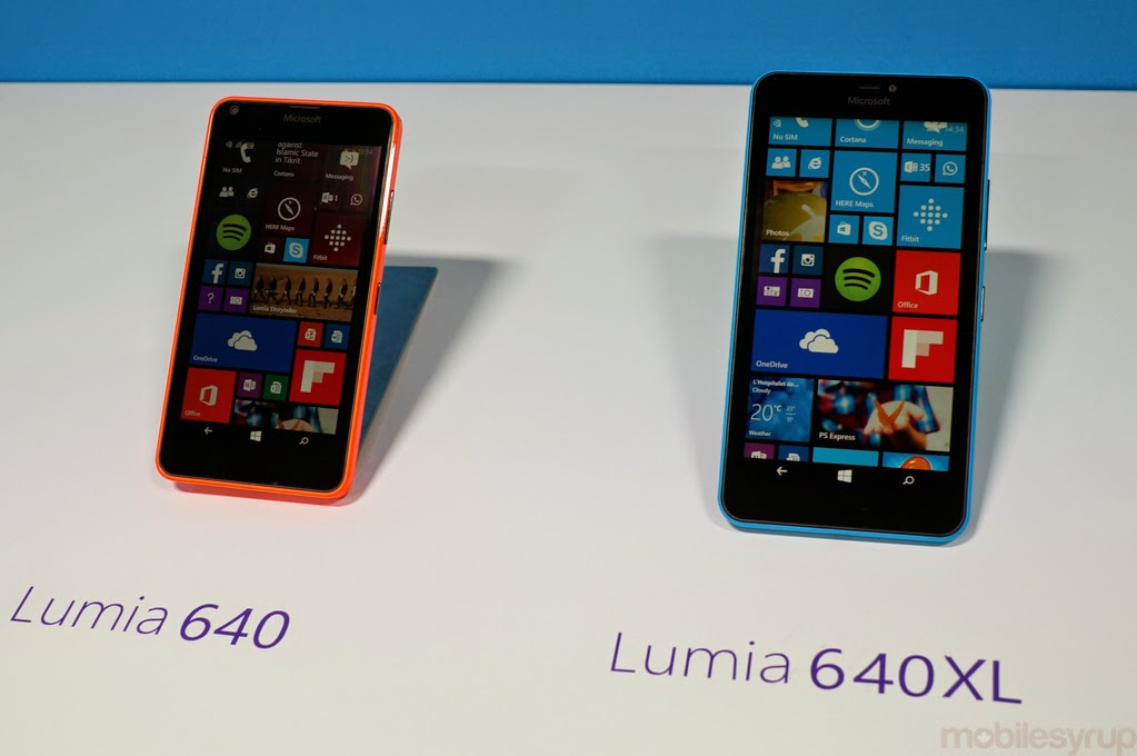 Lumia 640, 640 XL will be unveiled on April 7 in India - Updatetech