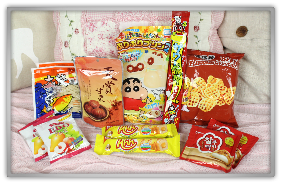 ABCDEat january box unboxing 2015 review subscriptionbox snacks snack chinese asian food season candy autumn hong kong genie geniesfavproducts