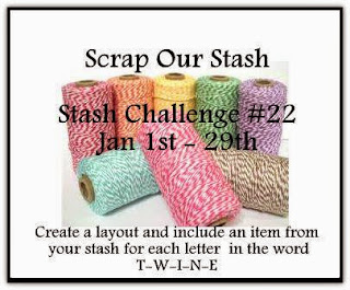 Stash Challenge #22~ Word Challenge