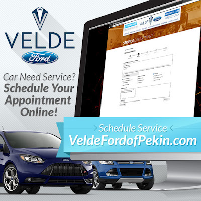 Velde Makes Scheduling Your Car Service Simple
