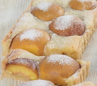 Almond-and-Peach-Tart-Recipe